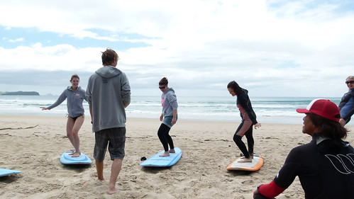 First Lesson - Surf in Opoutere