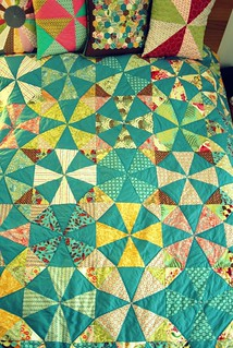 Finished Kaleidoscope Quilt