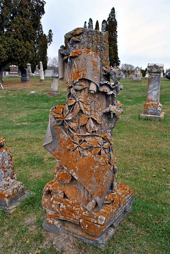 Woodmen of the World Gravestone, Poplar Hill Cemetery, Rock Elm, WI