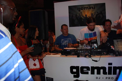 DJ's from Gemini at DJ Expo