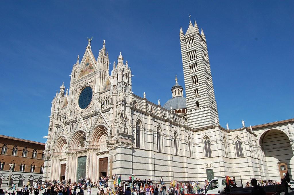Catedral de Siena en la Toscana