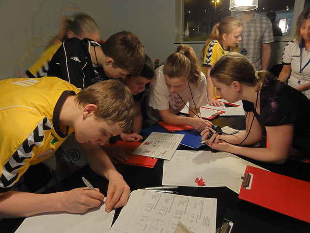 Young officials hard at work at FOMM 2011