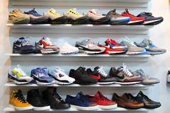 shoe store, sneakers, footwear, shoe,
