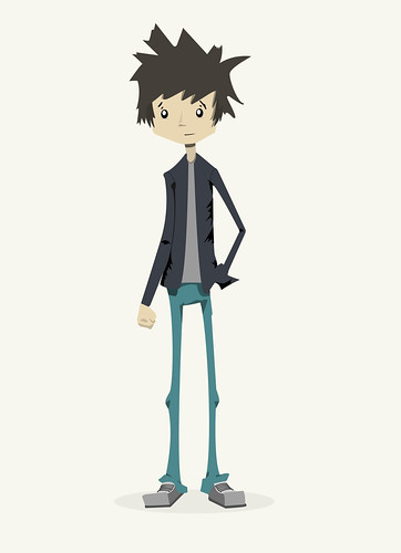 Suited HIpster Vectorized