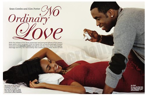 Essence Magazine Kim Porter Sean Combs