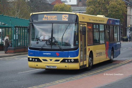 Transdev Lancashire United 1099, PN02HVX.