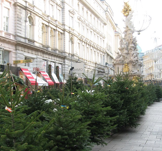 Christmas trees from Wienerwald