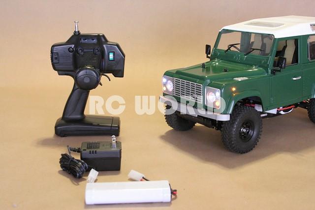 tamiya rc land rover defender 90