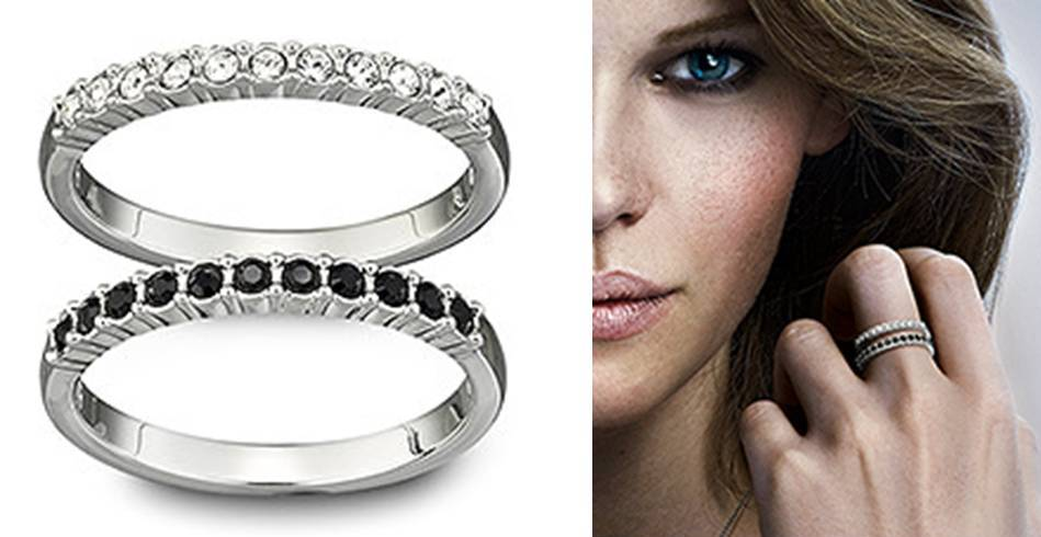Swarovski-mix-ring