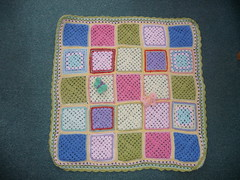 Thank you Jean B for donating all of these pretty Squares! 'Pastel Dreams'.