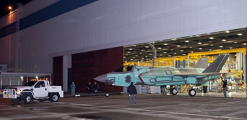 First International F-35 Rolls Out of the Factory