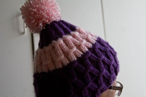 Waffel Hat pose4