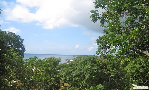 view of utila - diving - honduras