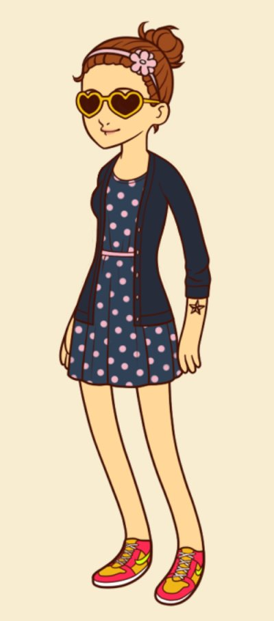 Hipster Fashion on About What I Said     Fashion Friday  The Hipster Girl Dress Up Game