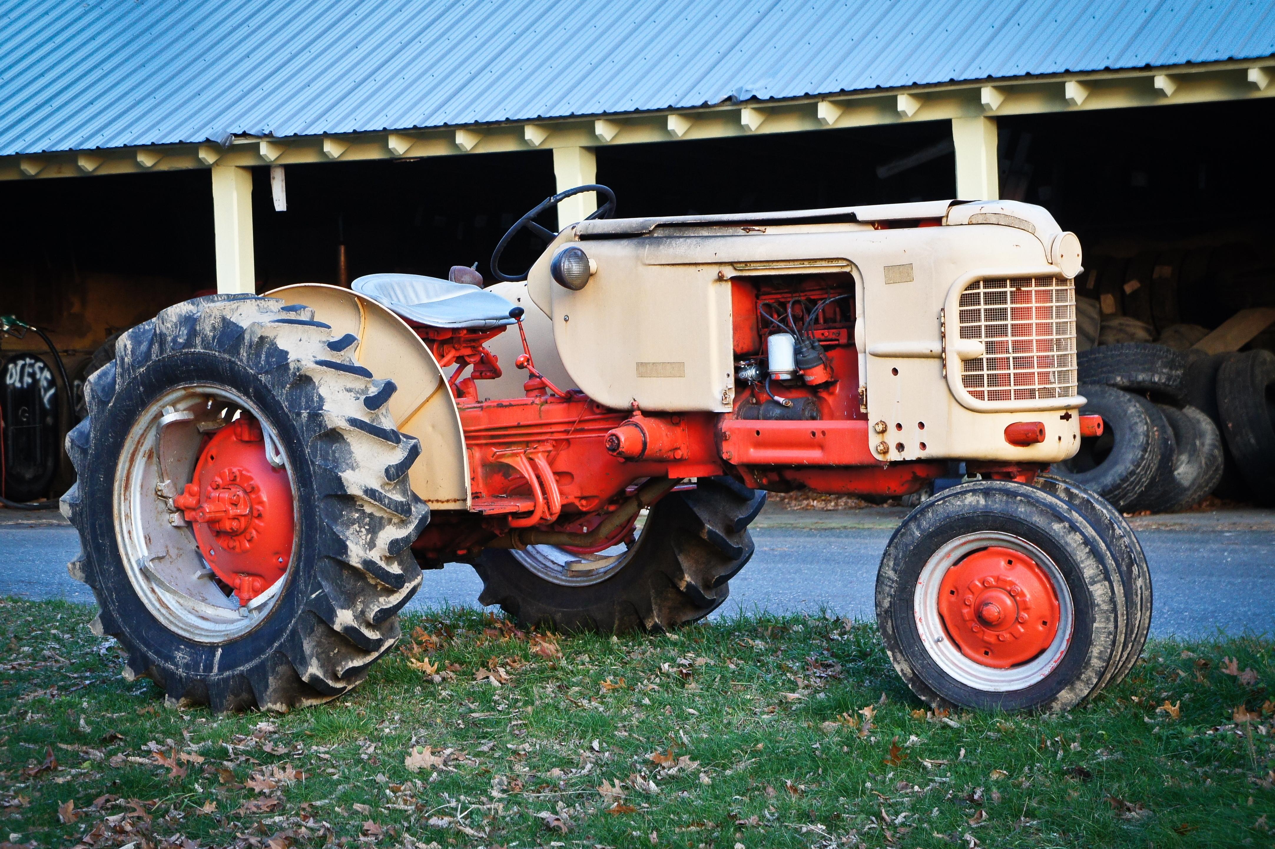 1956 Case Tractor : Case row crop tractor flickr photo