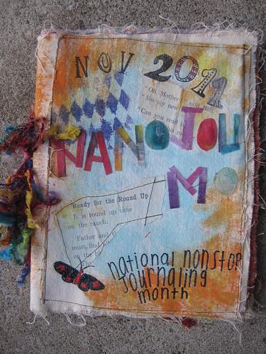 NaNoJouMo cover (front)