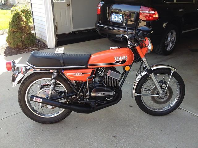 Yamaha Rd 350 Parts