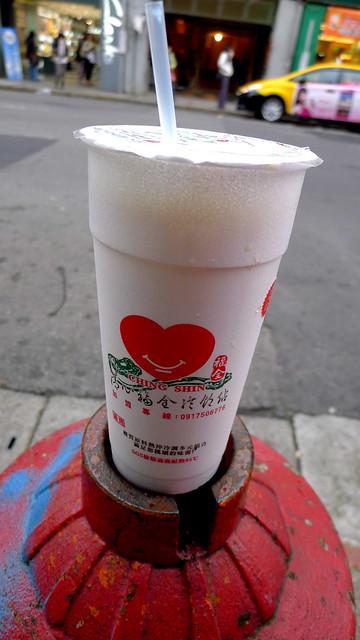 oolong fresh milk tea