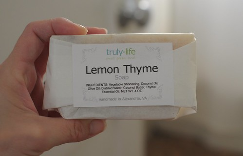 truly-life lemon thyme soap