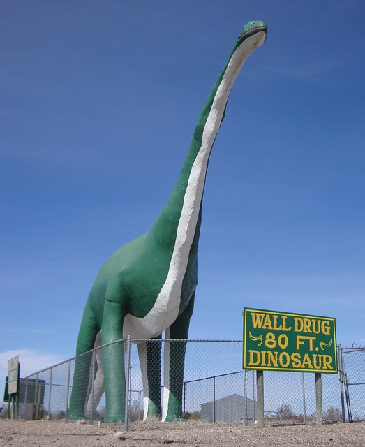 Wall (SD) United States  City new picture : Wall Drug Dinosaur Wall, South Dakota | Flickr Photo Sharing!