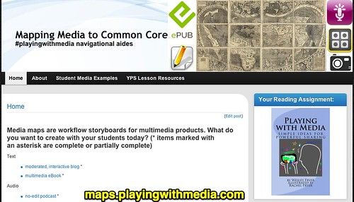 Mapping Media to Common Core » #playingwithmedia navigational aides