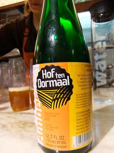 Hof ten Dormaal Beer, Gastronomie 491