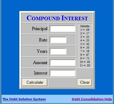 Compound Interest Calculator   Flickr - Photo Sharing!