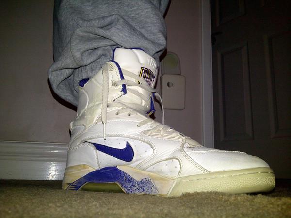 0e961b12129d3d ... 1991 Nike Air Force 180 PUMP