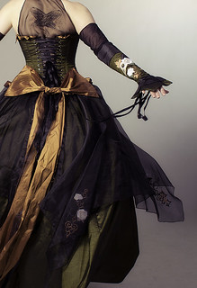 The Clockwork Natura Gown