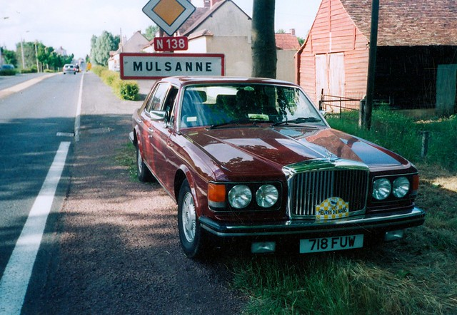 718 FUW - 1980 Bentley Mulsanne - Back to where it got its name !