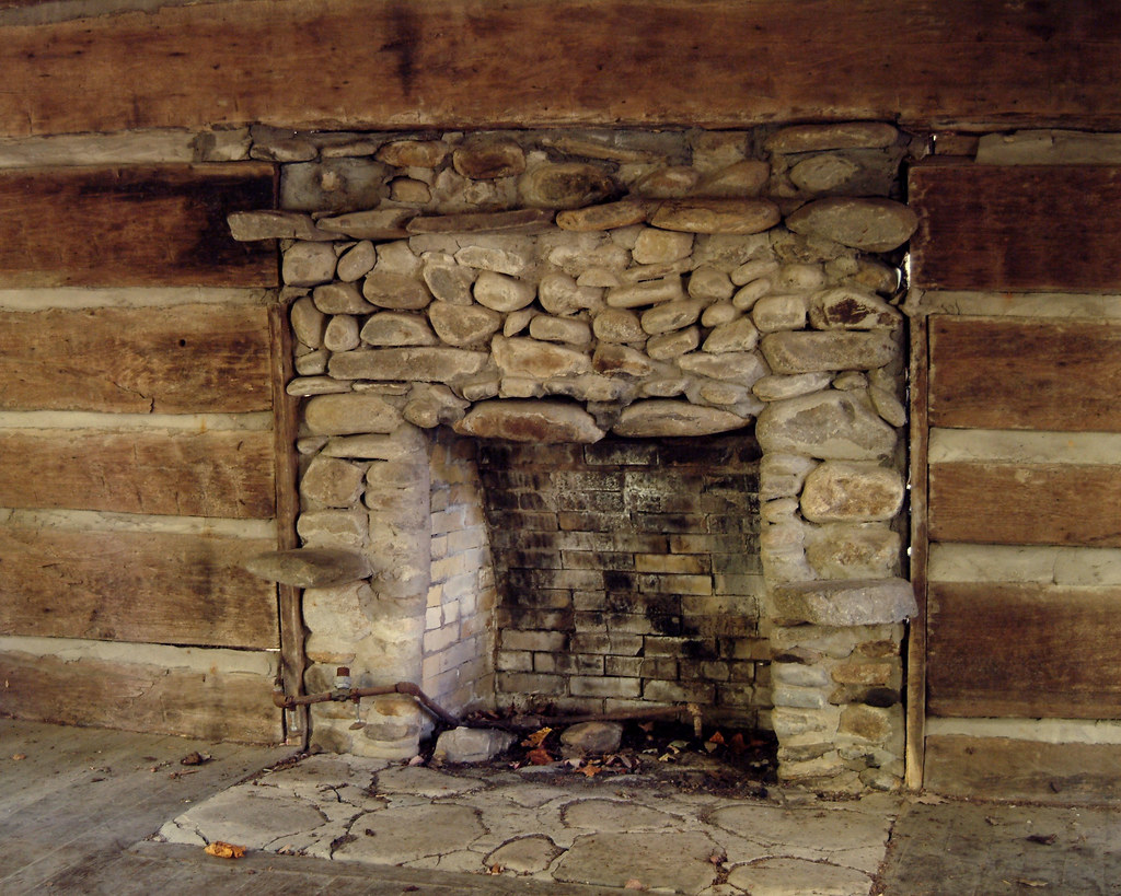 Elkmont Nc Ghost Town Old Fireplace In Deserted Cabin Flickr