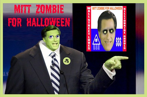 MITT ZOMBIE by Colonel Flick