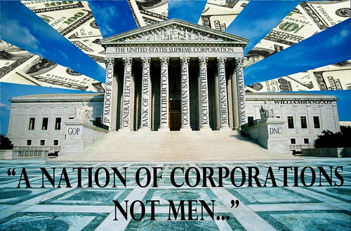 A NATION OF CORPORATIONS by Colonel Flick