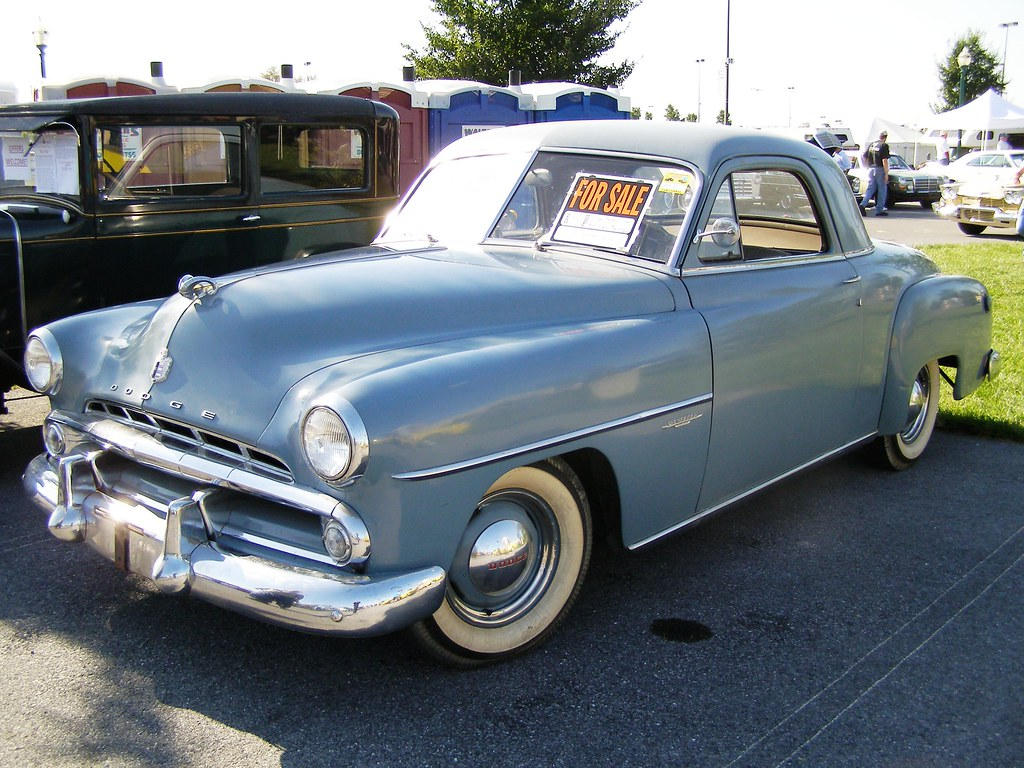 1951 dodge coupe for sale