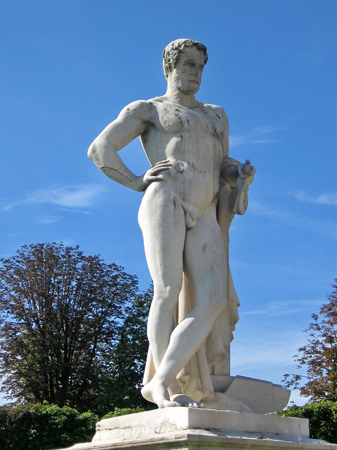Cincinnatus sculpture in jardin des tuileries paris flickr photo sharing - Statues jardin des tuileries ...