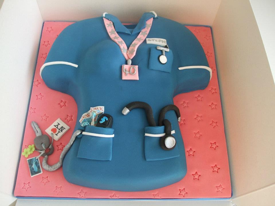 Cake Designs For A Nurse Kustura for
