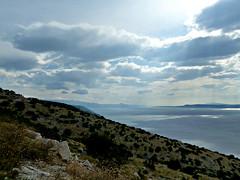 Mediterane Küstenansicht