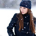 Polina - Fashion / Snow [Explored]