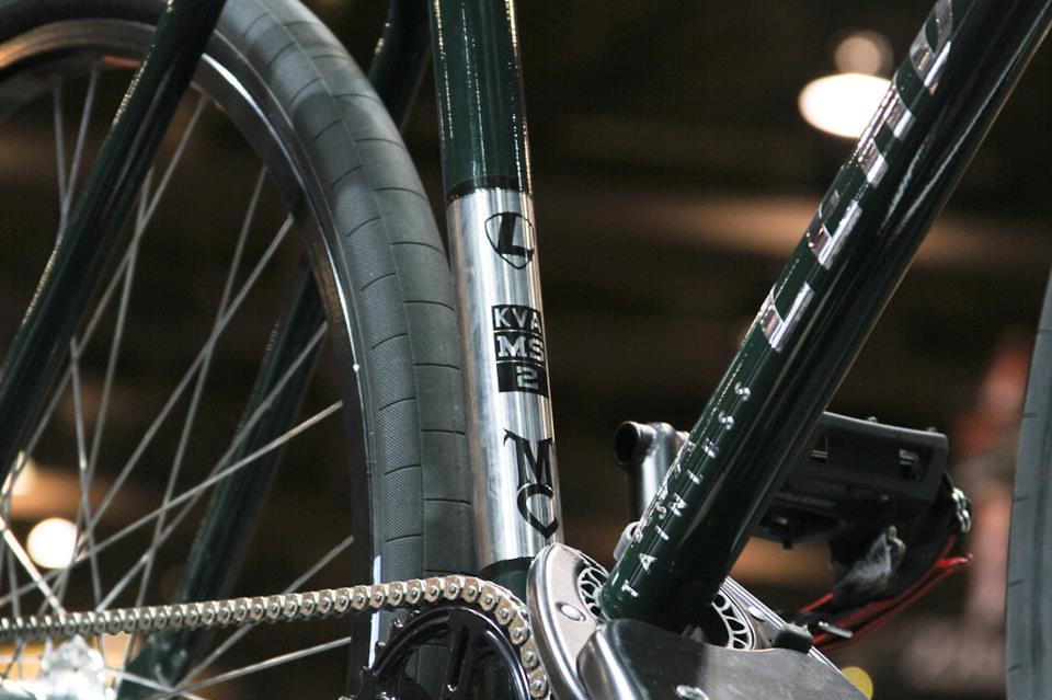 Michael Chacon - MS2 tubing - Leader bike
