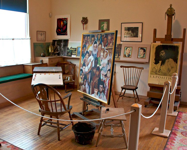 Norman Rockwell's Studio
