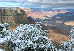 Nov. 2012 - Grand Canyon National Park: Early Snow on South Rim