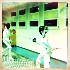 Sword fencing