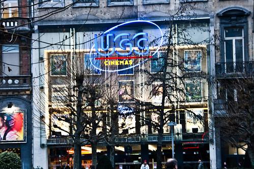 Belgique - Bruxelles - Boulevard Anspach - Cinéma UGC De Brouckère