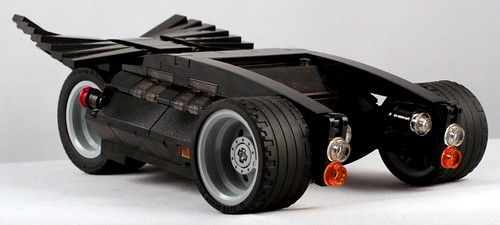 Electric BATWInG Batmobile