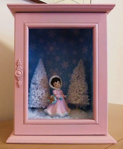 Winter/Christmas Shadowbox by MissConduct*