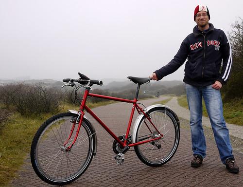 Andrew & his new bike