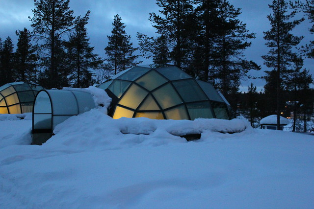 igloo de verre igloo de verre de nuit h tel laponie finlan by romain cloff flickr. Black Bedroom Furniture Sets. Home Design Ideas