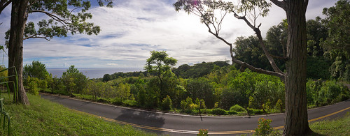 somewhere on the Road to Hana, Maui, Hawai'i (panorama)