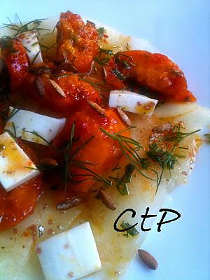 Frutta Salata con Vinagrette d'arancia alle Erbette Piccanti di Alessandra Ruggeri