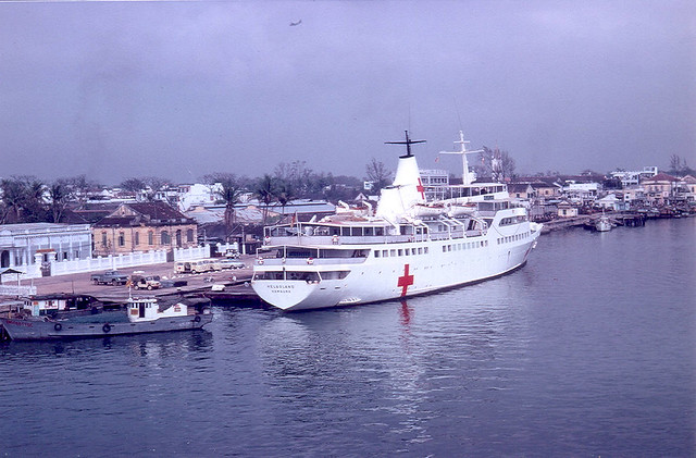Hospital Ship Repose in Da Nang 1967